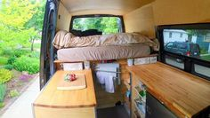 This Couple Optimized Their Sprinter Camper Van To Haul Mountain And Touring Bicycles – RV Mods – RV Guides – RV Tips   DoItYourselfRV