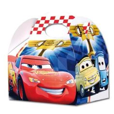 Caixa brindes Disney Cars