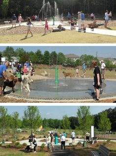 dog park design | Grand Opening for Chattapoochee Dog Park