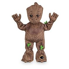 Groot Dancing Plush - Guardians of the Galaxy Vol. 2 - Small - 13'' | Disney Store Groot's got his groove on with this dancing plush toy inspired by Marvel's <i>Guardians of the Galaxy Vol. 2</i>. Press his palm or set in motion detection mode to see this super sprout swing into action as he dances to music from the movie!