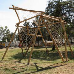 Galería de México DF: taller de construcción con bambú levanta 22 pabellones experimentales en la UNAM - 1