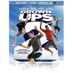 Grown Ups 2 on Blu-ray + DVD + UltraV BRAND NEW & FACTORY SEALED! Adam Sandler
