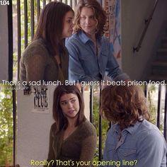 #thefosters Callie & Wyatt (1x04)