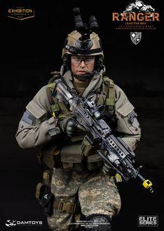 Damtoys 78010 Elite US Army 75th Ranger 1 6 Figure Boxset Deposit in Stock  