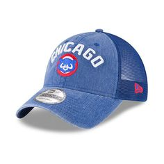 839767824 Chicago Cubs Rugged 9Twenty Snapback Adjustable Hat by New Era®