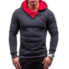 Kinggo Personalized Men Hooded Sack Dragon Ball Dragon Box Logo Comfortable Zipper Sweatshirts