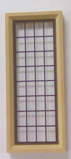 Square 'Stone' Mullion Window - Complete Glass & Leadlight