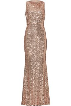 Rent Blush Sequin Blouson Gown by Badgley Mischka for $80 - $105 only at Rent the Runway.