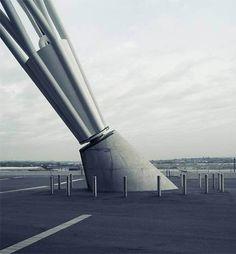 concrete Structure piston metal geometry Architecture