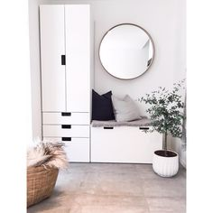 Ikea Stuva hack for entryway