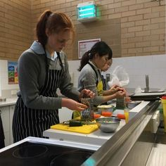 A Canberra school takes food waste recycling to the next level, with students creating meals from unwanted produce for those in need.