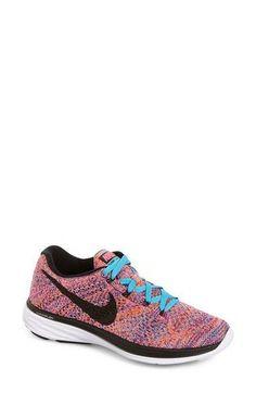 NIKE 'Flyknit Lunar 3' Running Shoe (Women). #nike #shoes #