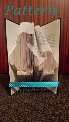 Penguins Mum and Baby bookfolding PATTERN by Allinthefolds on Etsy