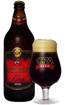 Cerveja Opa Bier Bock, estilo Traditional Bock, produzida por Opa Bier, Brasil. 7% ABV de álcool.