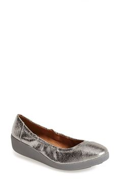 a2f385ba8eacb1 FitFlop  F-Pop  Ballerina Skimmer Flat (Women) available at  Nordstrom