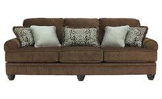 Crawford - Chocolate Sofa