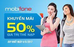 Chi tiết khuyến mãi Mobifone ngày 4/5/2017