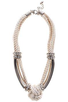 Maris Knot Necklace £28 #style #agenda