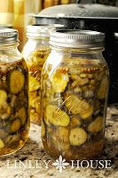 The Linley House : Canning Bread and Butter Pickles