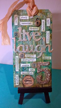 P A P E R C R A F T S: Tim Holtz Tags 2015- January