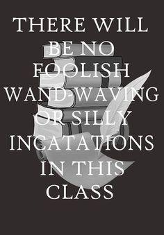 Hogwarts rules!