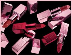 Blush, Lipstick, Lady, Beauty, Collection, Lipsticks, Rouge, Beauty Illustration