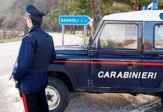 Bagnoli Irpino (Avellino), litiga con un amico e danneggia l'auto dei Carabinieri: denunciato