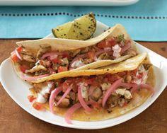 Wahoo Fish Tacos.