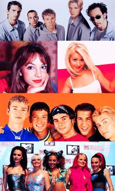 90's music - Backstreet Boys, Britney Spears, Christina Aguilera, N'SYNC, and The Spice Girls!
