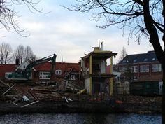 Zou het vandaag dan echt de kaatste dag zijn dat we n gebouw tegenover ons hebben staan? #VanderKlauw #Leiden