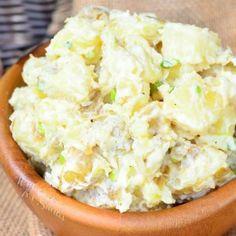 Roasted Garlic Asiago Potato Salad - Will Cook For Smiles