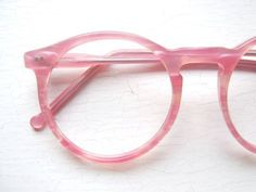 Colors in Optics Oversized Peabody Pink Pearlized Eyeglass Frames USA from BackThennishVintage on Etsy. Pretty In Pink, Pink Love, Pretty Eyes, All The Bright Places, Everything Pink, Fashion Mode, Pink Aesthetic, Mode Style, Pastel Pink