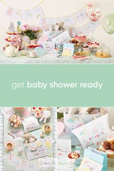 What better way to celebrate the imminent arrival of a new baby than with a baby shower! Our range of baby shower decorations includes everything you need to get party ready including invites, props & cake toppers!