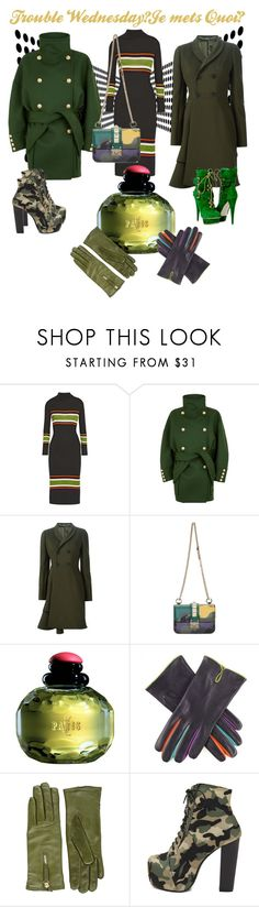 """""""Trouble du Mercredi!"""" by deloysfashions ❤ liked on Polyvore featuring SUNO New York, Balmain, Alexander McQueen, Valentino, Yves Saint Laurent and Want Les Essentiels de la Vie"""