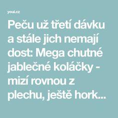 Peču už třetí dávku a stále jich nemají dost: Mega chutné jablečné koláčky - mizí rovnou z plechu, ještě horké! - Strana 2 z 3 - youi.cz