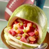 Superbowl munchies? This site has a bazillion carved watermelon ideas (just add vodka!)