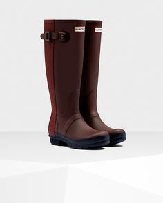 Original Ribbed Back Rain Boots | Official Hunter Boots Site