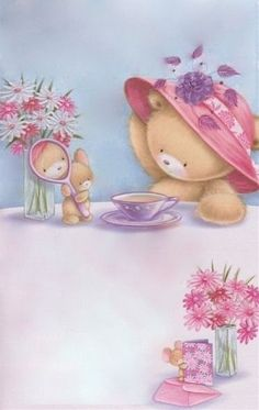 Florynda del Sol ღ☀¨✿ ¸.ღ Anche gli Orsetti hanno un'anima…♥ Cute Images, Cute Pictures, Cartoon Drawings, Cute Drawings, Urso Bear, Teddy Bear Pictures, Cute Animal Illustration, Sweet Pic, Tatty Teddy