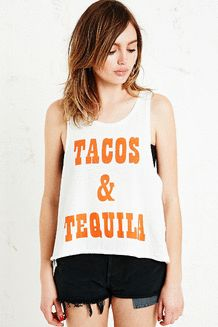 Minkpink - Débardeur Tacos & Tequila - Urban Outfitters
