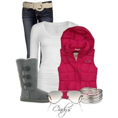Fall Day - Polyvore (would replace belt with silver one tho) Fall Winter  Outfits 2af592a43e1c