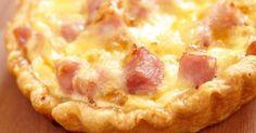 Recette de Tarte au boursin light et jambon. Facile et rapide à réaliser, goûteuse et diététique. Ingrédients, préparation et recettes associées.