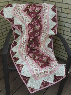 A personal favorite from my Etsy shop https://www.etsy.com/listing/457433446/country-roses-quilt-table-or-bed-runner