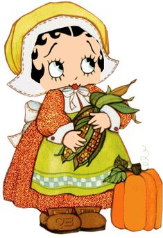 Betty Boop Pictures Archive: Betty Boop Thanksgiving animated gifs