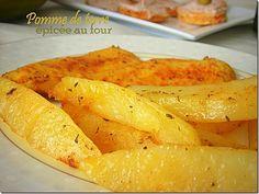 pommes de terre epicees au four