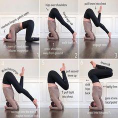 Yoga Bewegungen, Yoga Moves, Yoga Flow, Yin Yoga, Yoga Headstand, Yoga Exercises, Yoga Workouts, Pilates Workout, Handstands