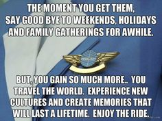 True but so worth it! Love my fly life ✈️❤️