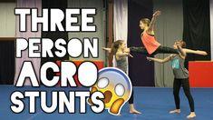 3 Person Acro Stunts
