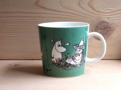 Moomin Mugs, Vintage Images, Colours, Tableware, Vintage Pictures, Dinnerware, Tablewares, Place Settings, Antique Pictures