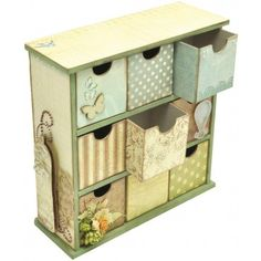 8X6X2.9 Beyond The Page MDF Medium Drawers SB2144 - I think something like this could be fun to make
