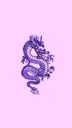 Dragon Wallpaper Iphone, Japanese Wallpaper Iphone, Iphone Wallpaper Themes, Purple Wallpaper Iphone, Hippie Wallpaper, Iphone Wallpaper Tumblr Aesthetic, Cute Patterns Wallpaper, Iphone Background Wallpaper, Aesthetic Pastel Wallpaper